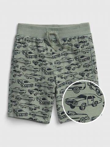מכנסיים קצרים בהדפס מכוניות / בנים של GAP