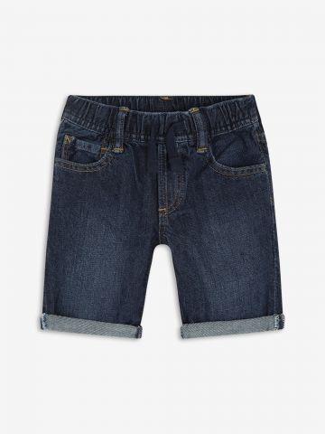 ג'ינס קצר עם שפשופים/ בייבי בנים של GAP