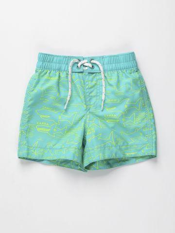 מכנסי בגד ים בהדפס כרישים / 12M-5Y של GAP