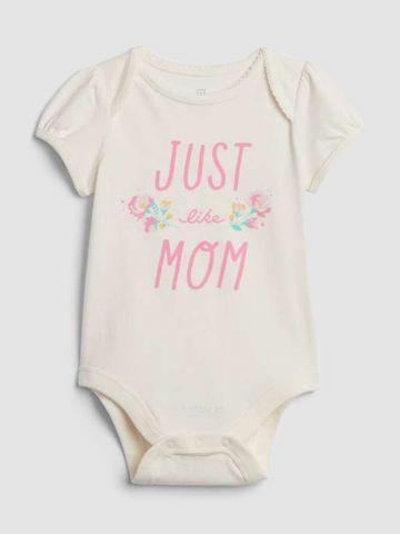 בגד גוף עם הדפס Just like mom / בייבי בנות של GAP