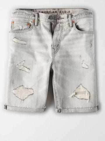 ג'ינס ברמודה עם קרעים / גברים של AMERICAN EAGLE
