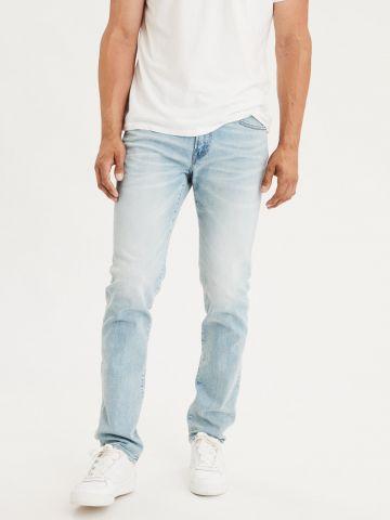 ג'ינס סלים בשטיפה בהירה Slim של AMERICAN EAGLE