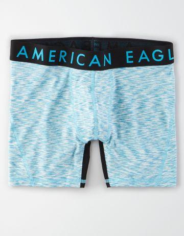 תחתוני בוקסר ג'רסי עם לוגו של AMERICAN EAGLE