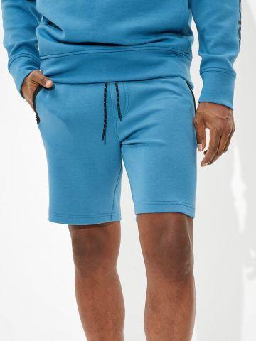מכנסי טרנינג קצרים עם כיסים מודגשים של AMERICAN EAGLE