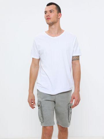 מכנסי ברמודה עם כיסים של AMERICAN EAGLE
