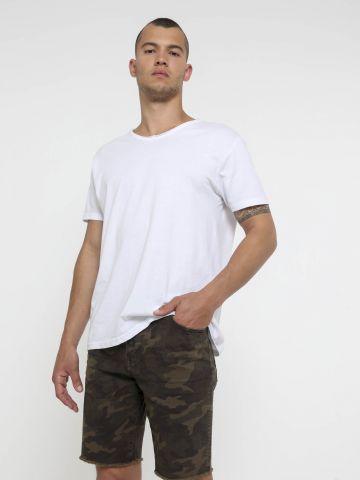 ג'ינס ברמודה קמופלאז' של AMERICAN EAGLE