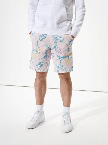 מכנסי ברמודה בהדפס פרחים של AMERICAN EAGLE
