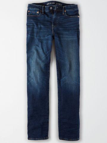 ג'ינס ישר בשטיפה כהה / גברים של AMERICAN EAGLE