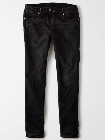 מכנסי ג'ינס ארוכים עם ווש Athletic Fit / גברים של AMERICAN EAGLE