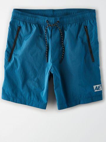 מכנסי ניילון קצרים עם כיסים מודגשים / גברים של AMERICAN EAGLE