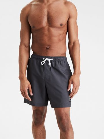 מכנסי בגד ים בהדפס פסים / גברים של AMERICAN EAGLE