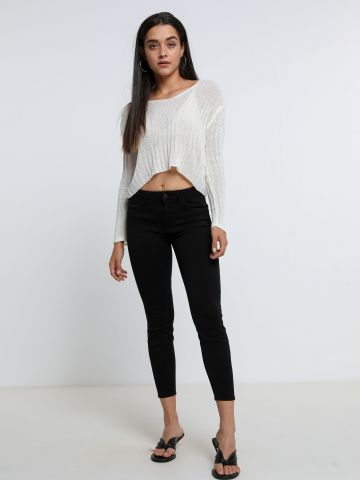ג'ינס סקיני קרופ של WRANGLER
