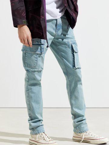 ג'ינס סקיני עם כיסים BDG של URBAN OUTFITTERS