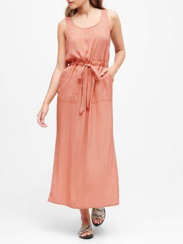 שמלת מידי עם כיסים של BANANA REPUBLIC