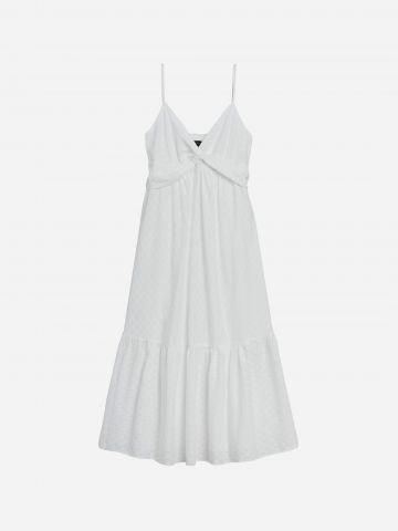 שמלת מקסי עם טוויסט / נשים של BANANA REPUBLIC