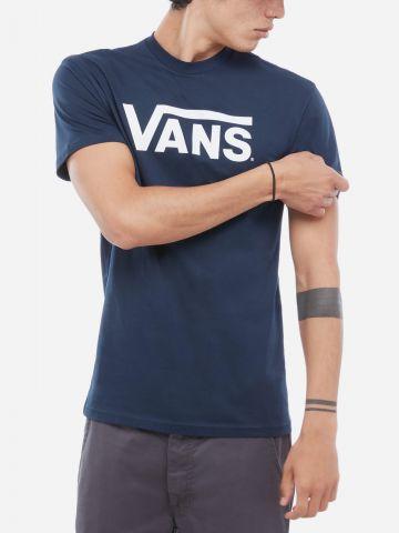 טי שירט עם הדפס לוגו של VANS