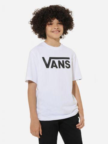 טי שירט בייסיק עם הדפס לוגו של VANS