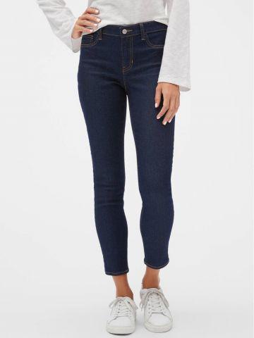 ג'ינס סקיני בשטיפה כהה של GAP