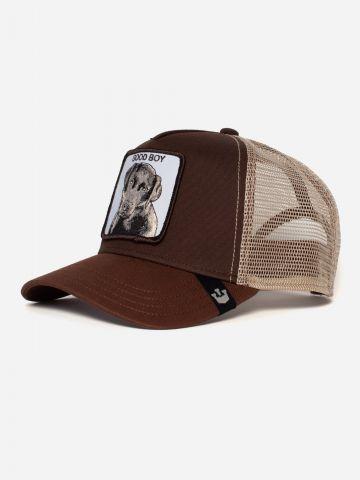 כובע מצחייה עם פאץ' כלב Good Boy / בנים של GOORIN BROS