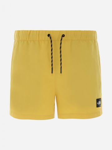 מכנסיים קצרים עם פאץ' לוגו של THE NORTH FACE