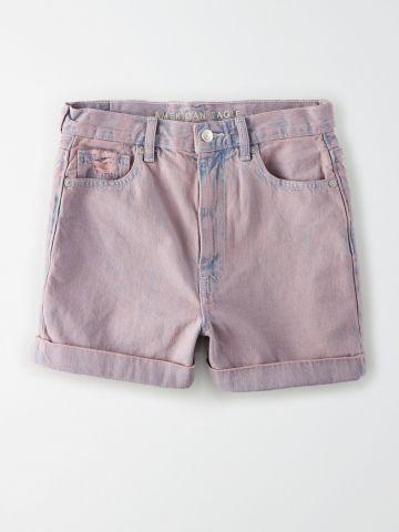 ג'ינס קצר בגזרה גבוהה Mom / נשים של AMERICAN EAGLE