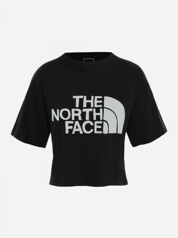 טי שירט קרופ עם לוגו / נשים של THE NORTH FACE