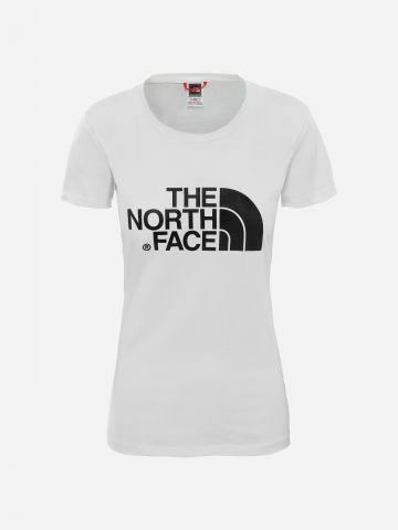 טי שירט עם הדפס לוגו / נשים של THE NORTH FACE