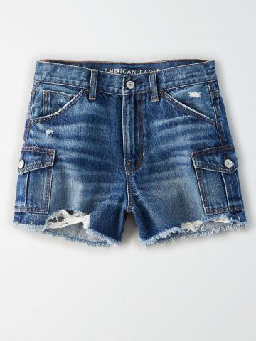 ג'ינס קצר עם כיסים / נשים של AMERICAN EAGLE
