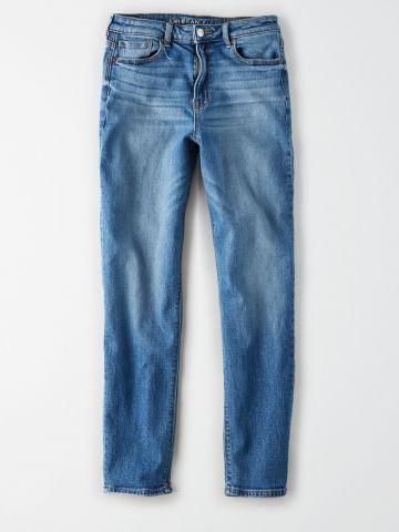 מכנסי ג'ינס ארוכים בגזרת Mom / נשים של AMERICAN EAGLE