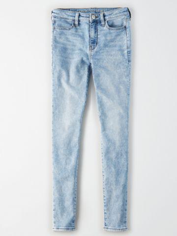 ג'ינס סקיני סטרץ' אסיד ווש / נשים של AMERICAN EAGLE