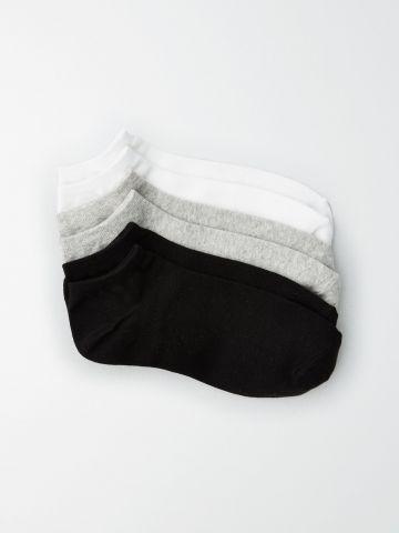 מארז 3 זוגות גרביים נמוכים / נשים של AMERICAN EAGLE