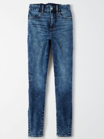 ג'ינס סקיני אסיד ווש / נשים של AMERICAN EAGLE