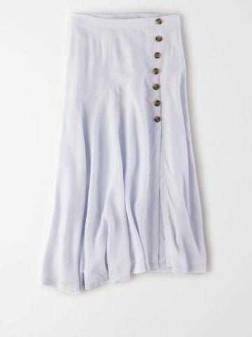 חצאית מידי עם כפתורים מעוצבים / נשים של AMERICAN EAGLE