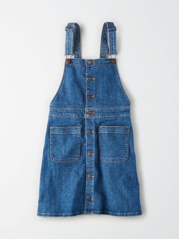 סרפן ג'ינס עם כפתורים / נשים של AMERICAN EAGLE