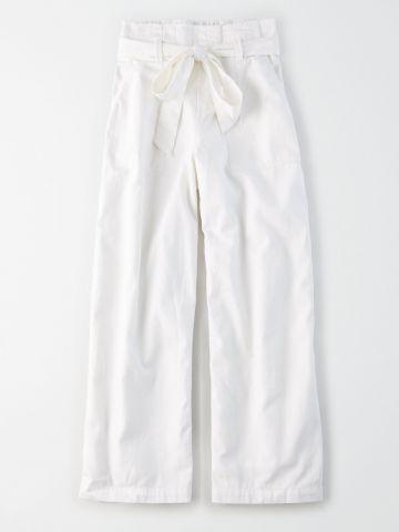 מכנסי פייפרבאג רחבים / נשים של AMERICAN EAGLE