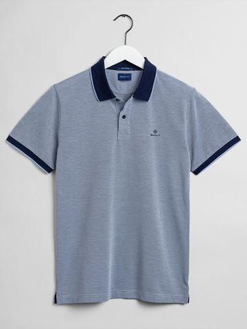 חולצת פולו עם שוליים מודגשים / גברים של GANT
