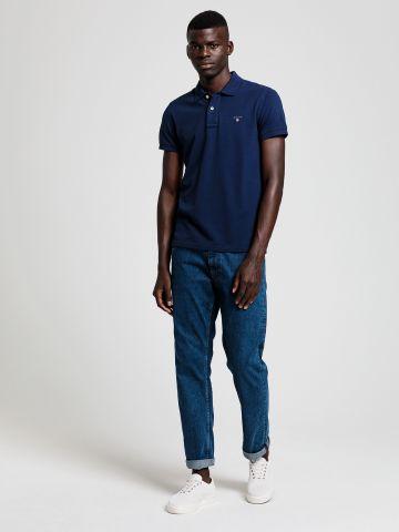 חולצת פולו עם רקמת לוגו Slim של GANT
