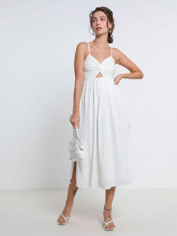 שמלת מידי עם טוויסט של AERIE