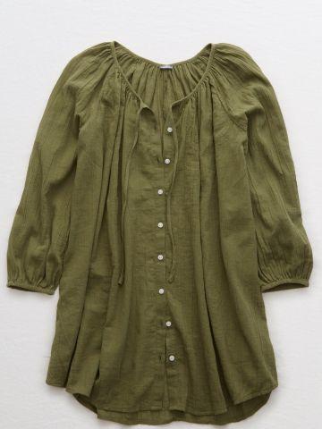 חולצה מכופתרת אוברסייז / נשים של AERIE
