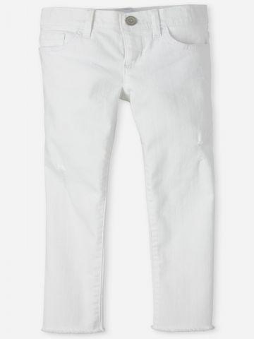 ג'ינס ארוך עם סיומת גזורה / בנות של THE CHILDREN'S PLACE