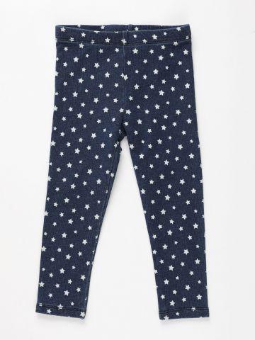 טייץ דמוי ג'ינס בהדפס כוכבים / 9M-5Y של THE CHILDREN'S PLACE