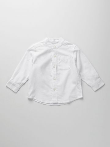 חולצה מכופתרת עם כיס / 9M-4Y של THE CHILDREN'S PLACE