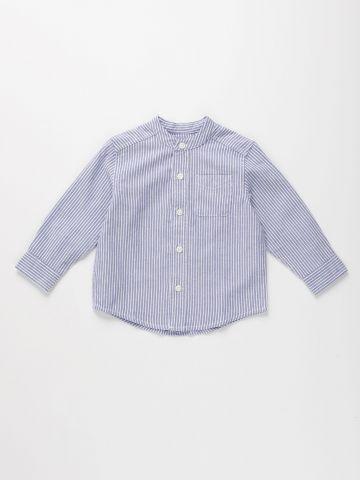חולצת פסים מכופתרת / 9M-4Y של THE CHILDREN'S PLACE