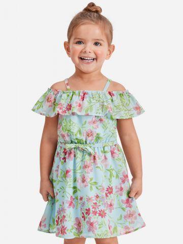 שמלת קולד שולדרס בהדפס פרחים / 9M-4Y של THE CHILDREN'S PLACE