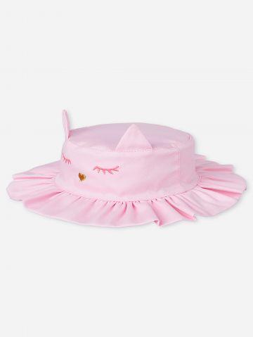 כובע באקט בדוגמת חתול / בייבי של THE CHILDREN'S PLACE