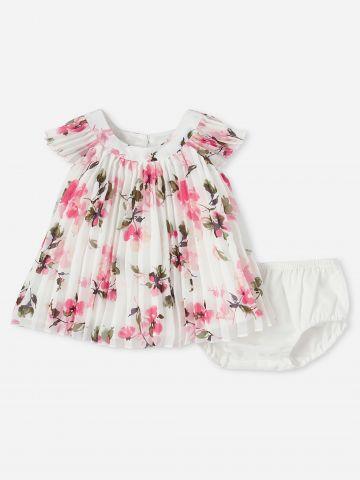 שמלת פליסה עם תחתונים נלוות / 0-18M של THE CHILDREN'S PLACE