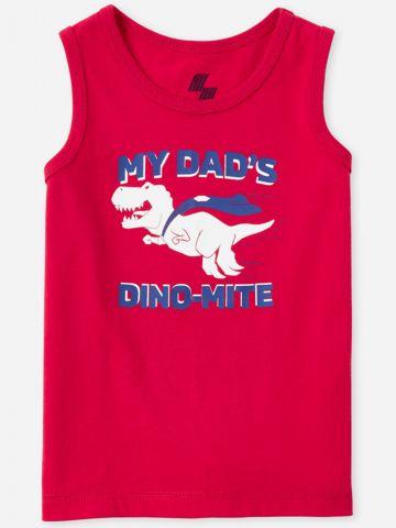 גופייה עם הדפס דינוזאור / 9M-4Y של THE CHILDREN'S PLACE