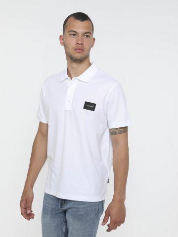 חולצת פולו עם לוגו של CALVIN KLEIN