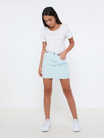חצאית מיני ג'ינס של TERMINAL X