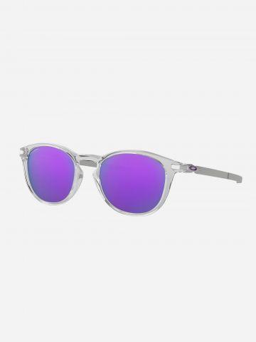 משקפי שמש עגולים עם מסגרת שקופה / גברים של OAKLEY